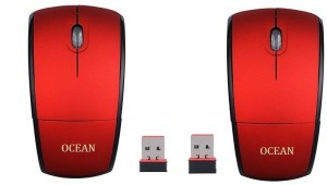 ROQ Sets Of 2 Ocean 2.4Ghz Foldable ARC Wireless Optical  Gaming Mouse