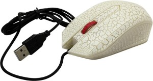 Speed Led Fluorescent Light Designer Usb Wired Optical Mouse