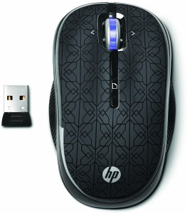 HP 4 Button 2.4 Ghz Wireless Optical Mouse