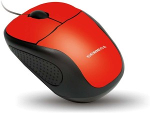 Amkette Kwik KP-8 Wired Optical Mouse