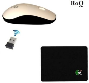 ROQ Q3 Premium series pad WITH Wireless Optical Mouse