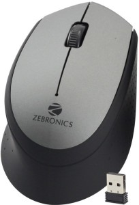 2d751ffb4ee Zebronics Swing Grey Wireless Optical Mouse USB Grey Best Price in ...