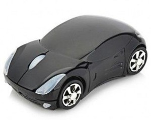 Smart Tech Car Shaped Wireless Optical  Gaming Mouse