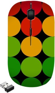 Zapcase Ultra Slim Wireless Optical Mouse WM5592 Wireless Optical Mouse