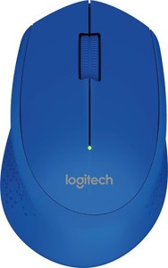 Logitech M-280-Blue Wireless Optical Mouse