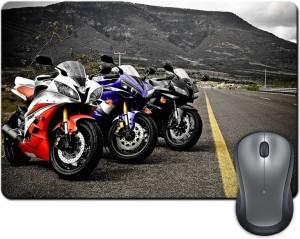 Rangeele Inkers Cool Bikes Mousepad