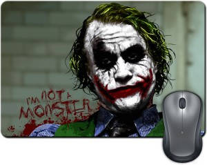 ShopMantra Joker I am not a monster Mousepad