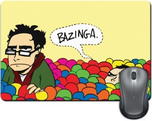 ShopMantra Bazinga Vector Design Mousepad