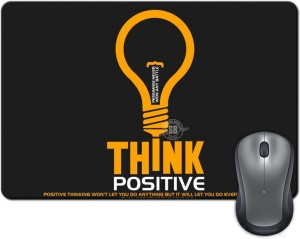 Rangeele Inkers Think Positive Mousepad
