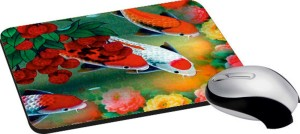 meSleep Red Fishes PD-15-73 Mousepad