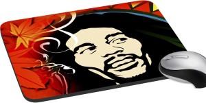 meSleep Saint Man with Afro Cut Mousepad