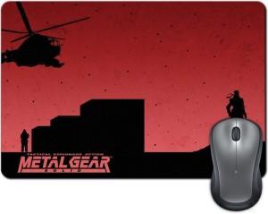 ShopMantra Metal Gear Solid Minimal Design Mousepad