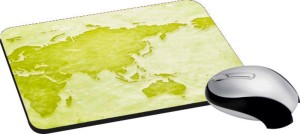 meSleep World Map PD-15-12 Mousepad