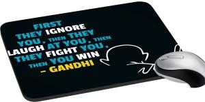 meSleep Gandhi PD-25-122 Mousepad