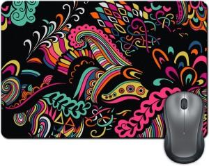 ShopMantra Colored Abstract Shapes Illustration Mousepad