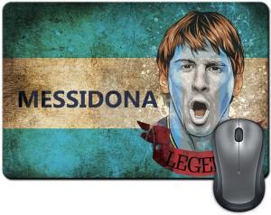 ShopMantra Messidona Argentina Football Mousepad
