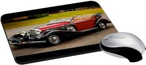 meSleep Vintage Car PD-12-33 Mousepad