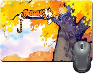 Rangeele Inkers Calvin And Hobbes Resting Mousepad