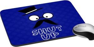 meSleep Saint Shut Up Mousepad