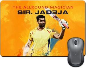 ShopMantra Sir Jadeja The All Rounder Mousepad