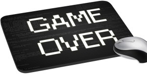 meSleep Game Over PD-14-85 Mousepad