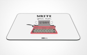 InstaNote Write Your Own Story Mousepad