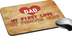 meSleep Forever Hero Dad Mousepad