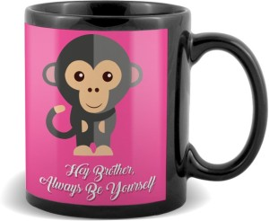 SKY TRENDS GIFT Hey Brother Always Be Yourself With Monkey Unque Color Gifts For Birthday And