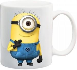 pixart pixart minion customized ceramic mug 250 ml best price in