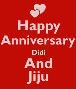 Izor Gift For Happy Anniversary Didi And Jijaji Printed Ceramic Mug
