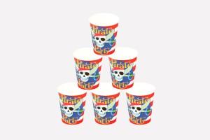 Funcart Pirate Party Paper Mug