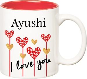 i love u ayushi name