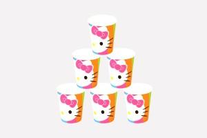 Funcart Hello Kitty Paper Mug