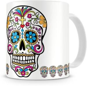 Print Haat 13 Skull Ceramic Mug