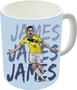 The Fappy Store James World Cup Ceramic Mug