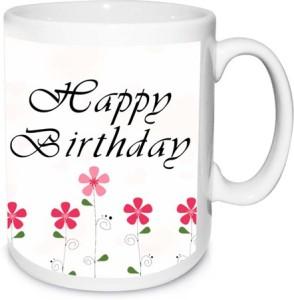 Alwaysgift Happy Birthday Mom I Love You So Much Ceramic Mug 350 Ml