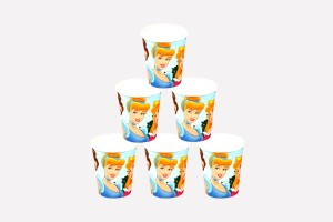 Funcart Three Princess Paper Mug