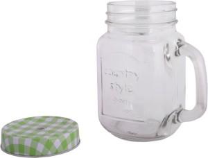 b89e1369c8e VNU Country Style Mason Jar Glass Mug 470 ml Best Price in India ...