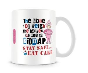 d49869dee1b Aunty Acid Stay Safe Eat Cake Ceramic Mug 325 ml Best Price in India ...