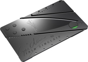 PackNBuy Cardsharp Sinclair Original Cardsharp Credit Card Sized Foldable Knife For Your Wallet Latest Invention Utility Knife