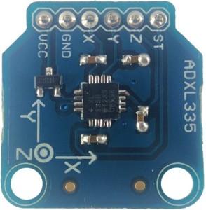 Kimaginations ADXL335 Accelerometer Multipurpose Controller