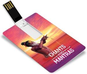 Music Card: CHANTS AND MANTRAS (320 kbps MP3 Audio) PENDRIVE Pendrive  Standard EditionSanskrit, Hindi - Shankar Mahadevan, Pt  Jasraj, Lata