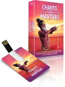 Music Card: CHANTS AND MANTRAS (320 kbps MP3 Audio) PENDRIVE Pendrive Standard Edition