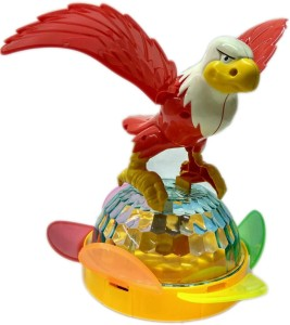Variety Gift Centre Eagle Toy for Kids with Unique Dazzling 4D Lights &  sounds  Spin Lightning Ball, B/O & Omni DirectionalMulticolor