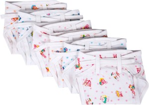 Baby Joy New Just Born Hosiery Printed Cotton Diaper/Langot Cushioned Padded Nappies,(0-3 Months)