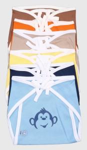 Bio Kid Colourful Eco Tie Nappies