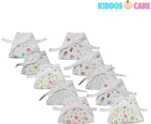 KiddosCare Baby Cotton Cloth Nappies in the Pack of 10 Colour and ...