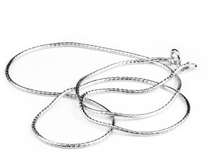 Swank Silver Latest Fancy Design 925 Pure Sterling Silver Chain for Men and  Women  Rhodium Plated Sterling Silver Chain