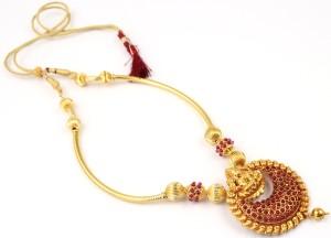 1bd474713 Dream Jewels Copper Necklace Set Best Price in India | Dream Jewels Copper Necklace  Set Compare Price List From Dream Jewels Necklaces 5012431 | Buyhatke