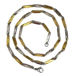 6ec0d03ac Men Style 18K Yellow Gold Plated Stainless Steel Chain Best Price in India    Men Style 18K Yellow Gold Plated Stainless Steel Chain Compare Price List  From ...